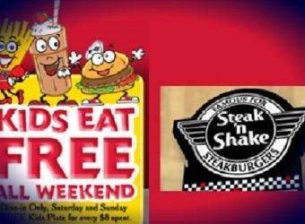 kids eat free at steak and shake